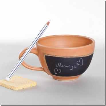 Tasse Schalenform Message